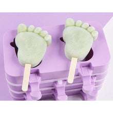 Load image into Gallery viewer, FEET SHAPED POPSICLE MOLD