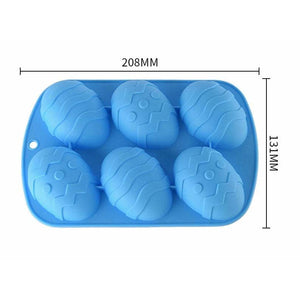 EASTER EGGS MOLD (6 CAVITY)
