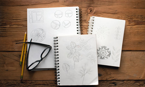 sketches for block print