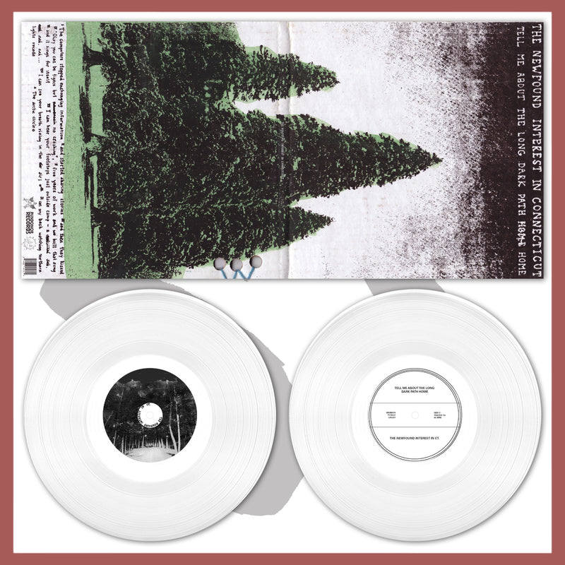 "LHL021: The Newfound Interest in Connecticut - Tell Me About The Long Dark Path Home 2x12"" LP - PRE-ORDER"