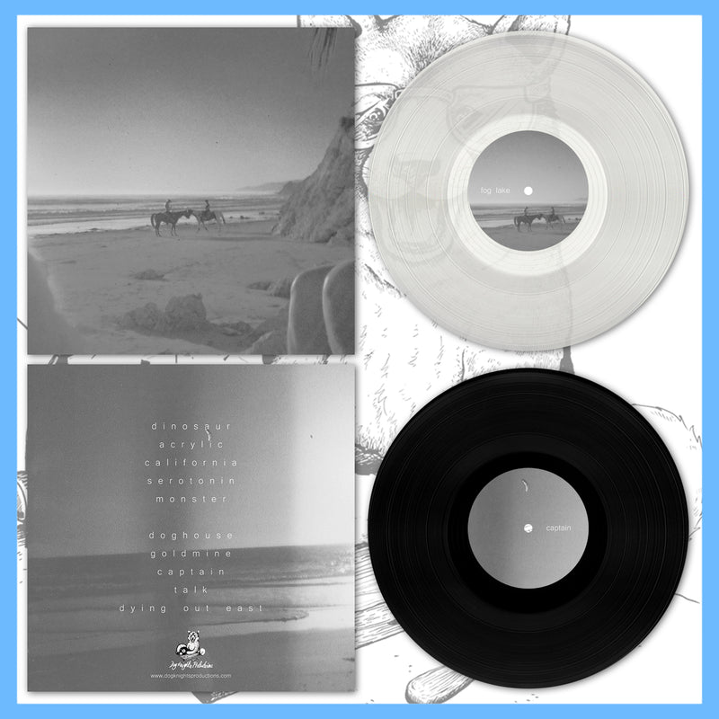 "*US ONLY* DK122: Fog Lake - Captain 12"" LP"