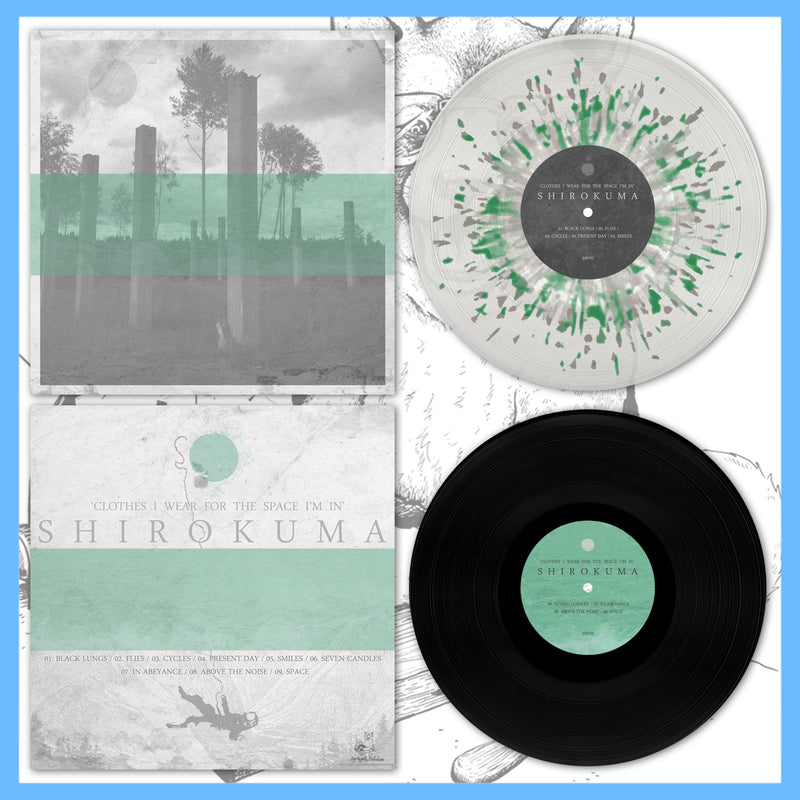 "*US ONLY* DK131: Shirokuma - Clothes I Wear For The Space I'm In 12"" LP"