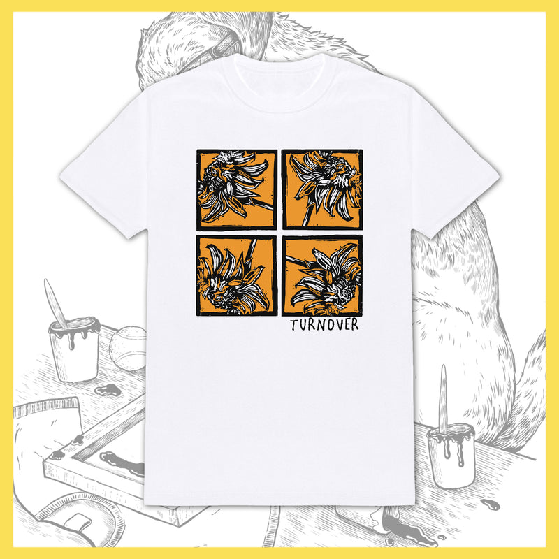 Turnover - Flowers - T-Shirt
