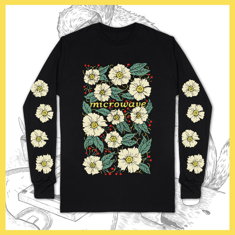 Microwave - Flowers - Long-Sleeve