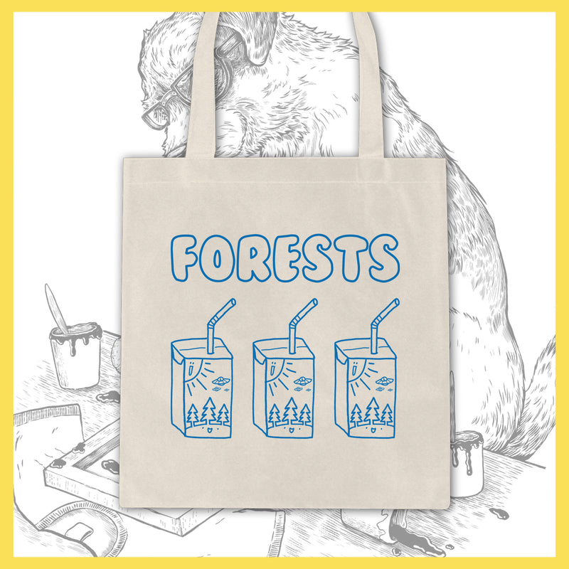 *US ONLY* Forests - Juice Boxes - Tote Bag