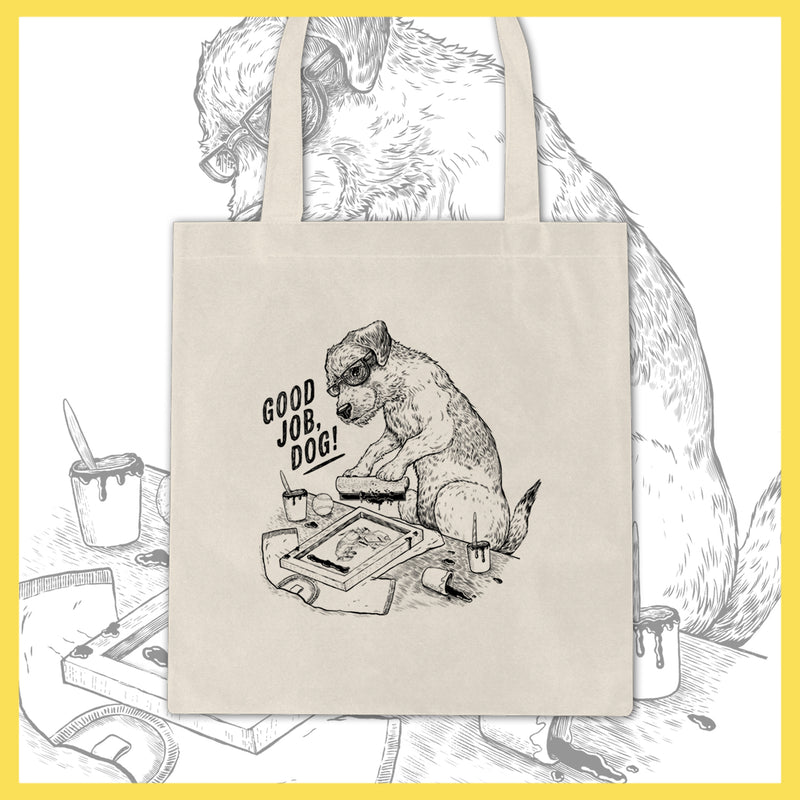 Good job, Dog! - Charlie - Tote Bag