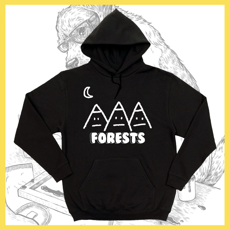 *US ONLY* Forests - Mountains - Hoodie