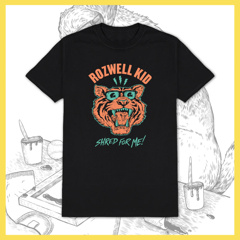 Rozwell Kid - Tiger Shred - T-Shirt