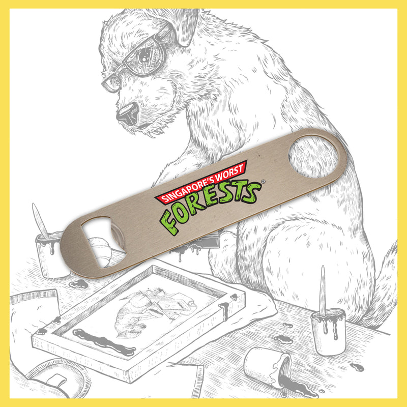 Forests - TMNT RIP - Metal 'Bar Blade' (Bottle Opener)