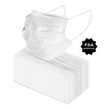 Load image into Gallery viewer, FDA approved 3-Ply Disposable Mask