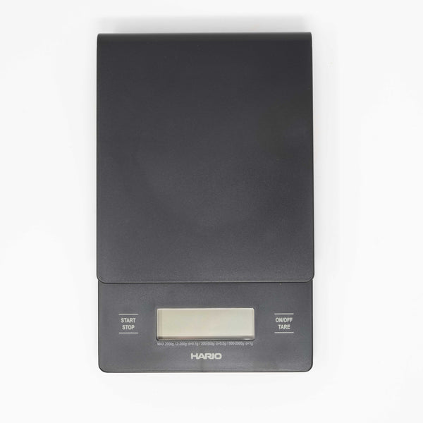 hario coffee smart scale with timer black