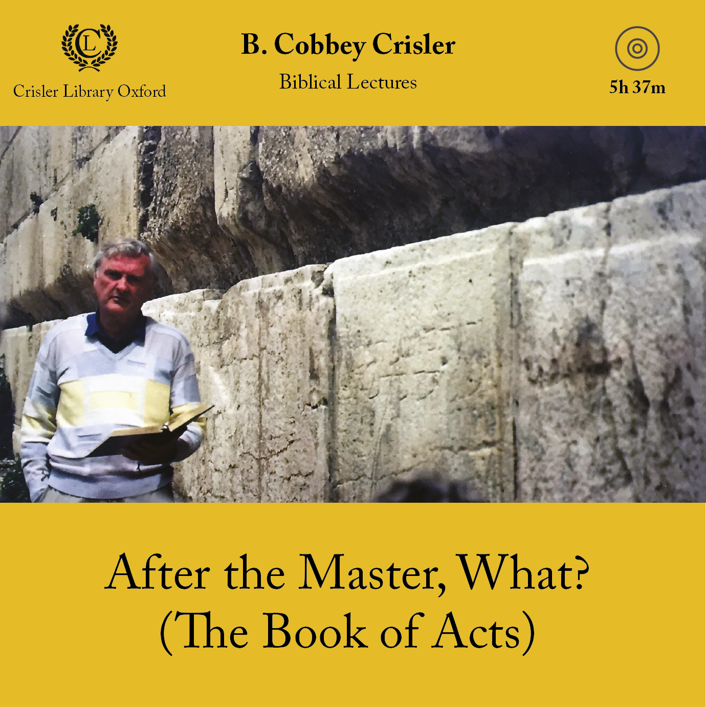 After the Master, What? (The Book of Acts)