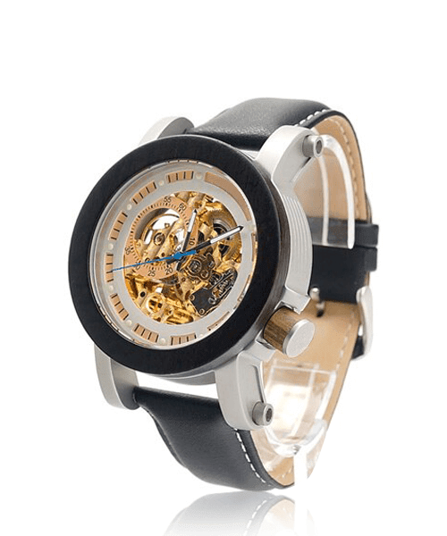 MONTRE EN BOIS AUTOMATIQUE <BR> BE Astral