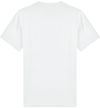 T-SHIRT HOMME COL ROND BLANC UNI <BR> MADE IN FRANCE & COTON BIO - Bois Eden