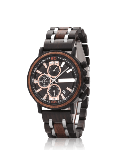 MONTRE EN BOIS HOMME <br> BE Business