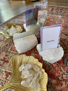Quartz Card Holder