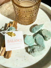Load image into Gallery viewer, 'BALANCE' Cleansing Bundle - Palo Santo + Amazonite