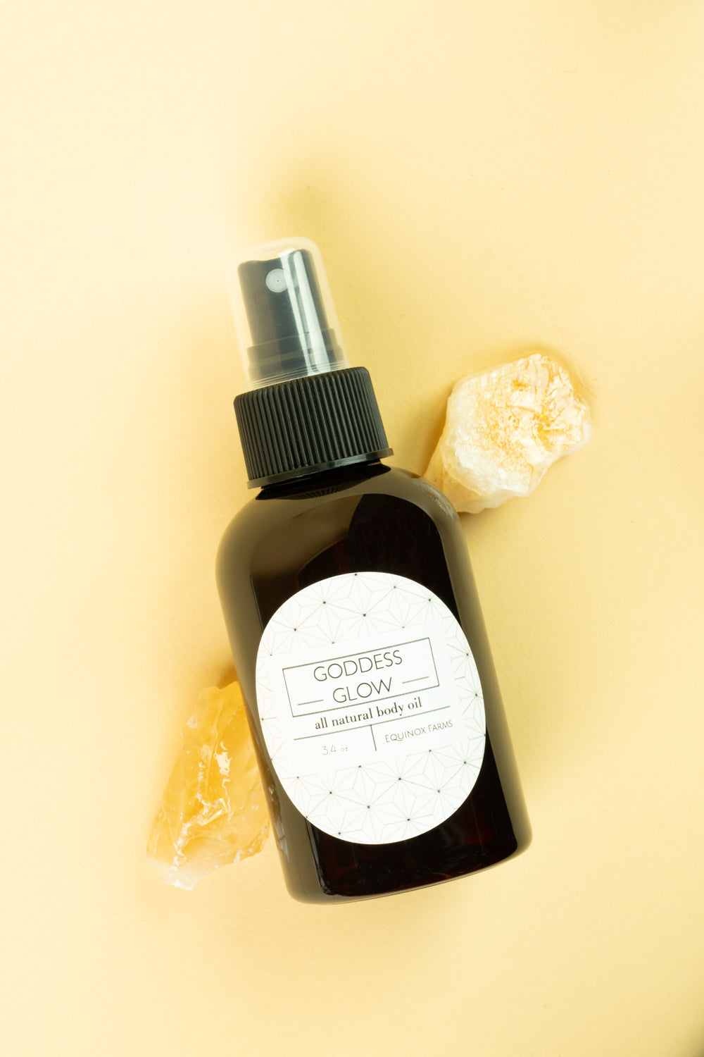 Goddess Glow Dry Body Oil