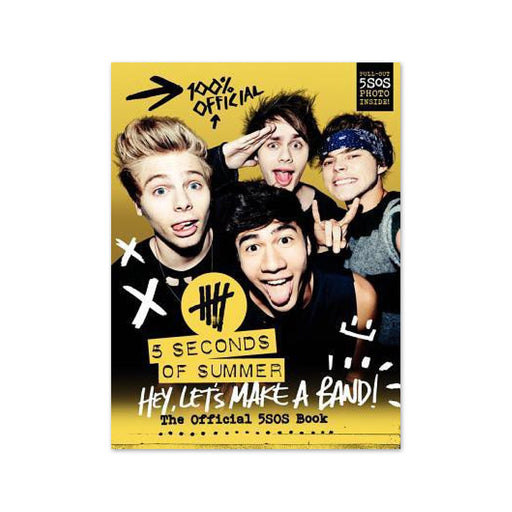 X-5 Seconds of Summer Hey Lets Make a Band