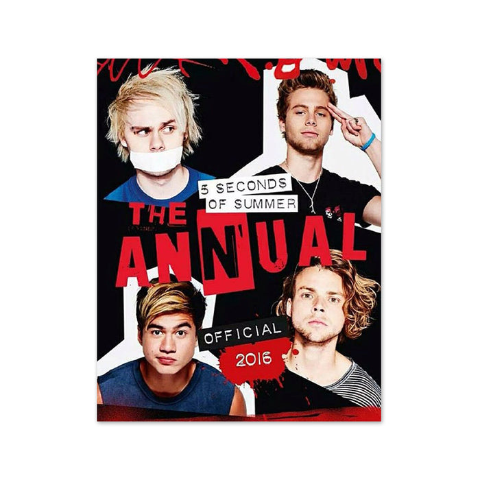 X-5 Seconds of Summer Book Of Stuff