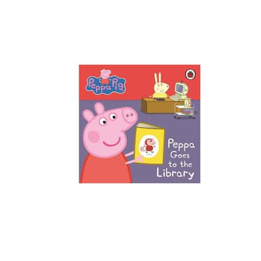 Peppa Pig : Peppa Goes to the Library