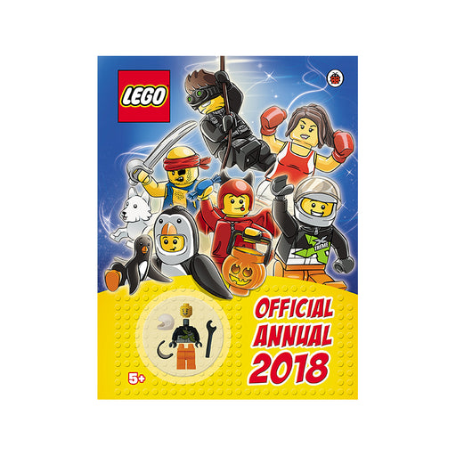 X-LEGO Official Annual 2018