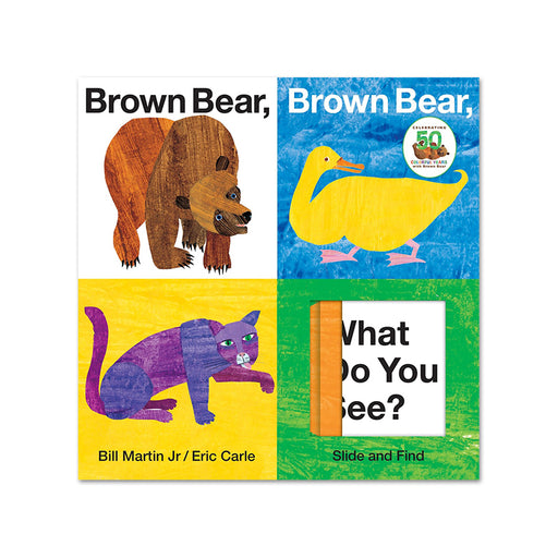Slide & Find - Brown Bear What Do you See ?