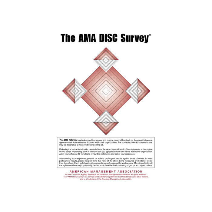AMA DISC Survey