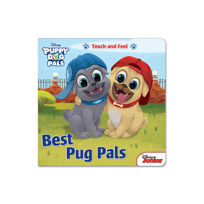 Disney Puppy Dog Pals Best Pug (Touch&Feel)