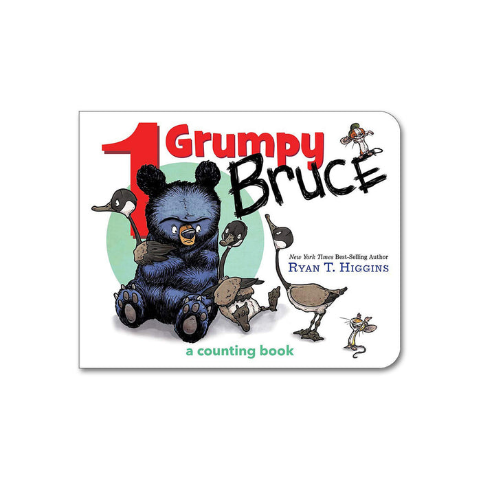 Grumpy Bruce Counting Book
