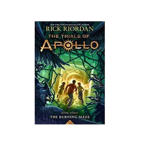 Rick Riordan : Trials of Apollo Burning Maze