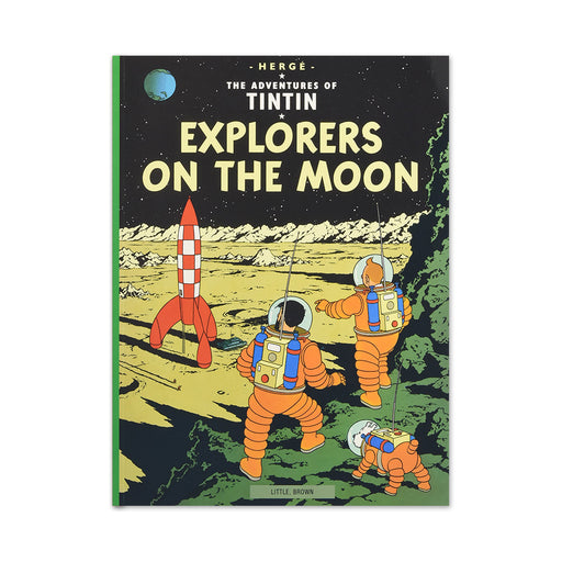 Tintin Explorers on Moon