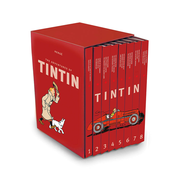 Tintin Adventures Compact Editions (RED)