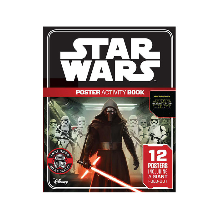 X-Star Wars TFA Poster Activity Bk