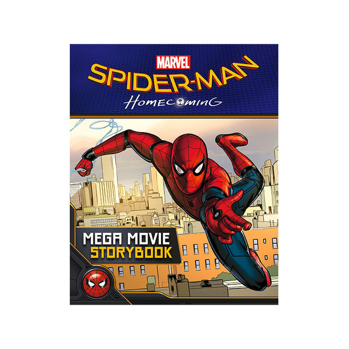 Marvel Spiderman HC Mega Movie Story
