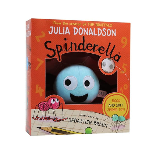 Spinderella Book & Plush Set ( LIMITED EDITION )