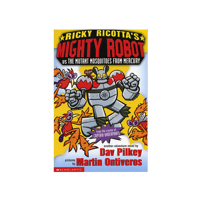 Ricky Ricottas Mighty Robot vs Mutant Mosquitoes
