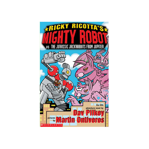 Ricky Ricottas Mighty Robot vs Jurassic