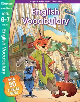 Disney Learning : Zootropolis English Vocabulary Ages 6-7