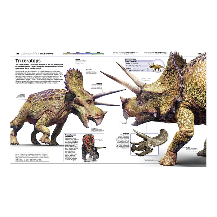 DK Knowledge Encyclopedia Dinosaur!