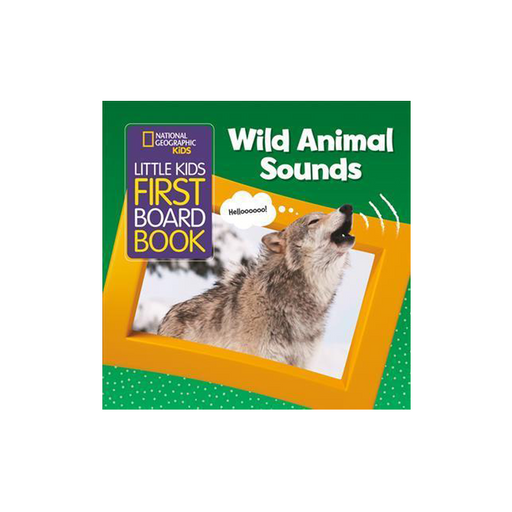 NGK LK First Board Book Wild Animal Sounds