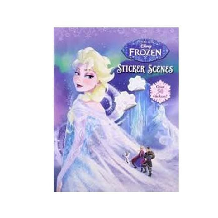 P-Disney Frozen Sticker Scenes