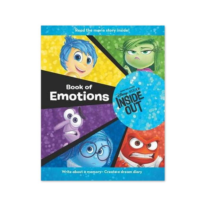 P-Disney Pixar Inside Out Book of Emotions