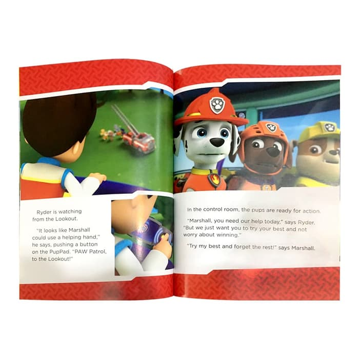 P-Paw Patrol Action & Adventure Padded