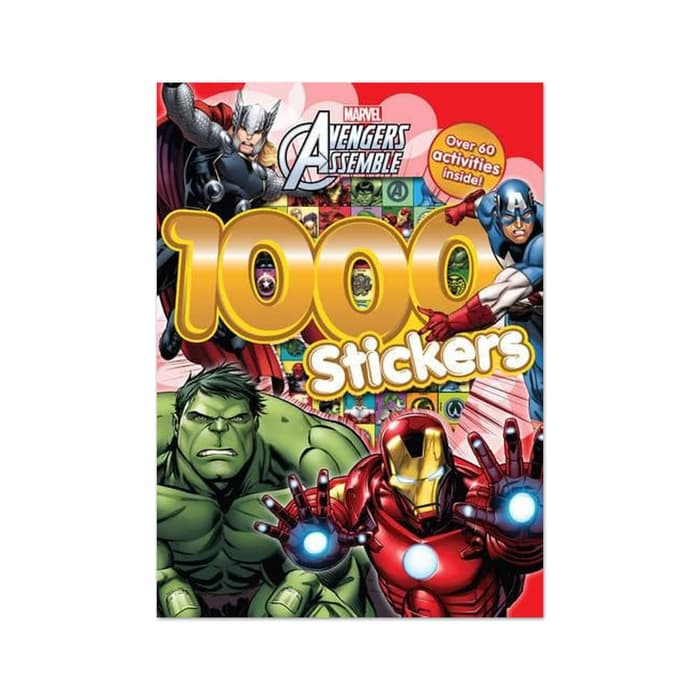 P-Marvel Avengers Assemble 1000 Stickers
