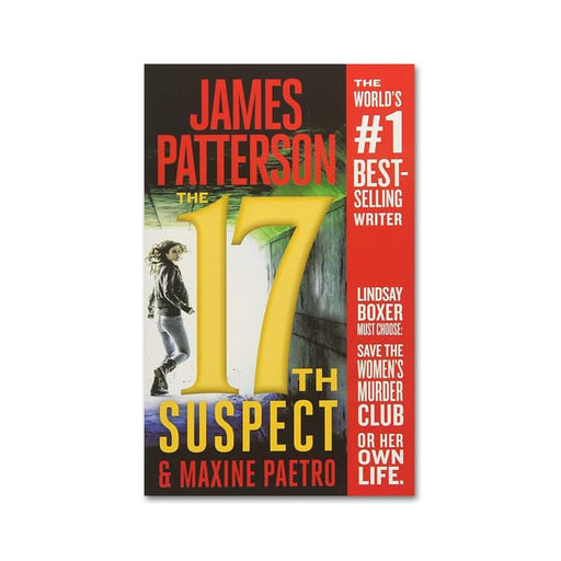 James Patterson : 17th Suspect