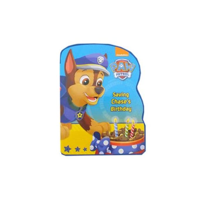 N-Disney Paw Patrol Shaped Bk