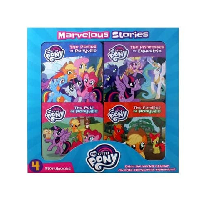 N-Hasbro My Little Pony 4 Books Box Set