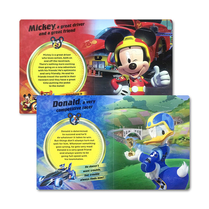D-N-Disney Mickey RR My First Jigsaw BB