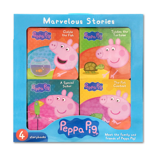 N-Peppa Pig 4 Books Box Set